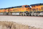 BNSF 6620 # 3 unit behind BNSF 6627 rioll eastbound pulling A Z-Train.